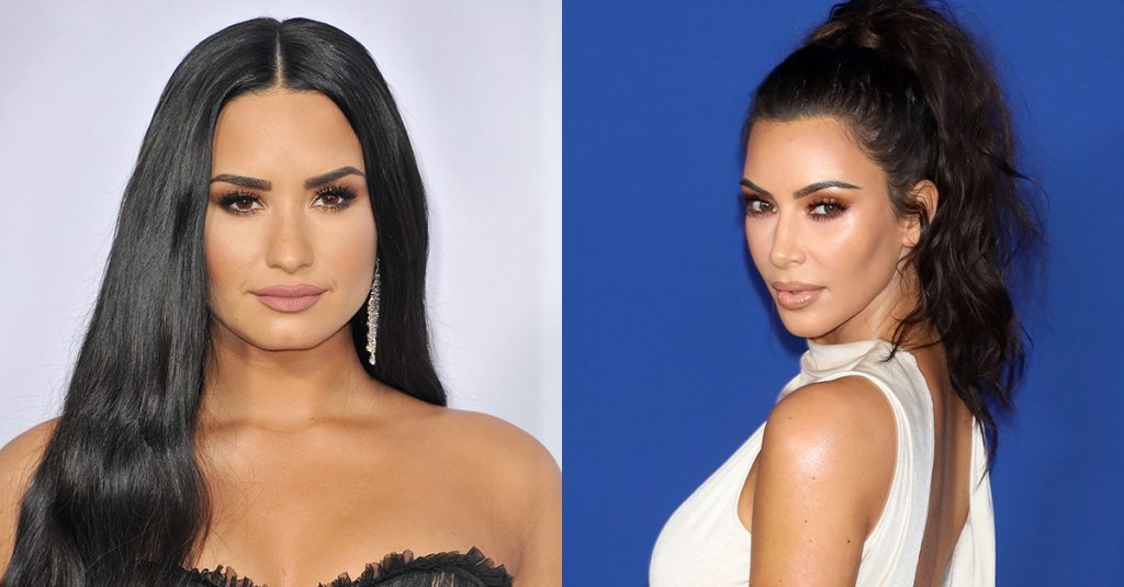 Kim Kardashian Responded To Demi Lovato's Anti Fat-Shaming Post, And The Internet Isn't Impressed