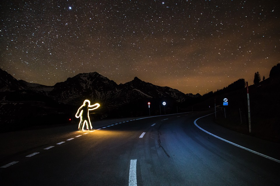 On The Road At Night Facts