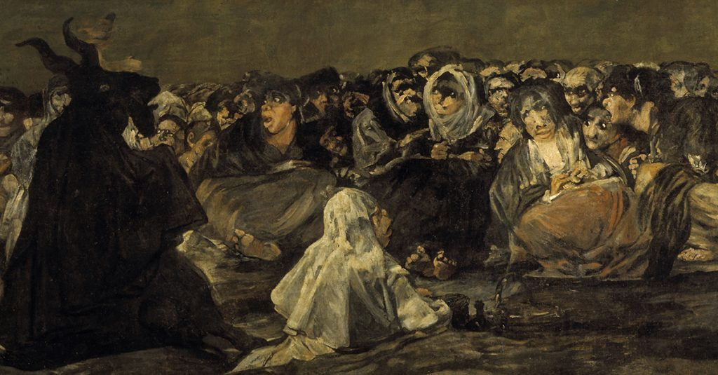 The Nightmarish World Of Francisco Goya's Black Paintings