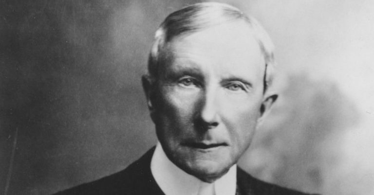 John D. Rockefeller Facts