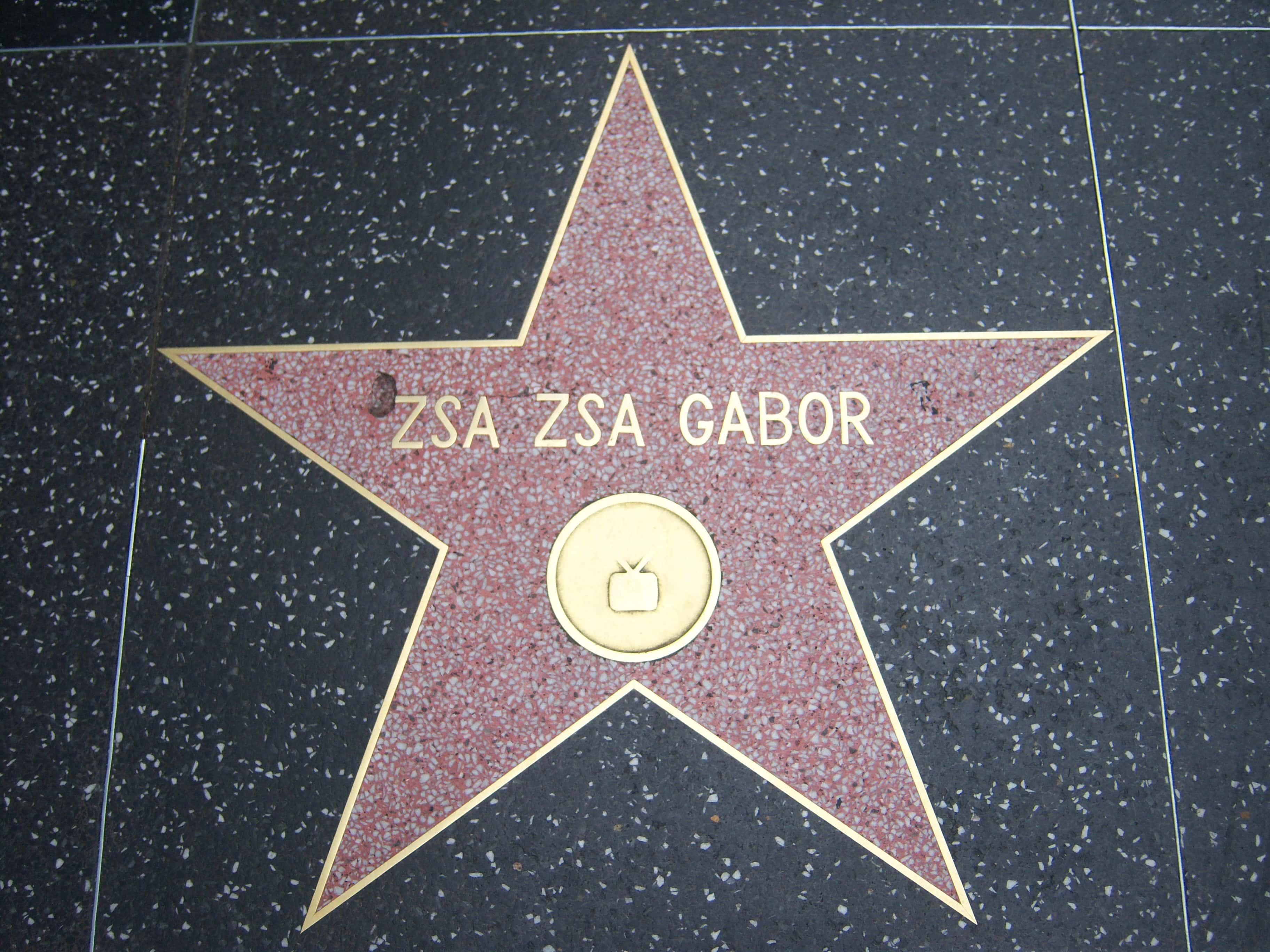 Zsa Zsa Gabor facts