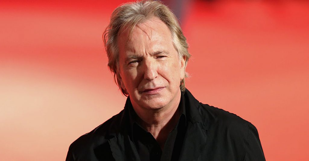 42 Smooth Facts About Alan Rickman, Hollywood's Favorite Villain