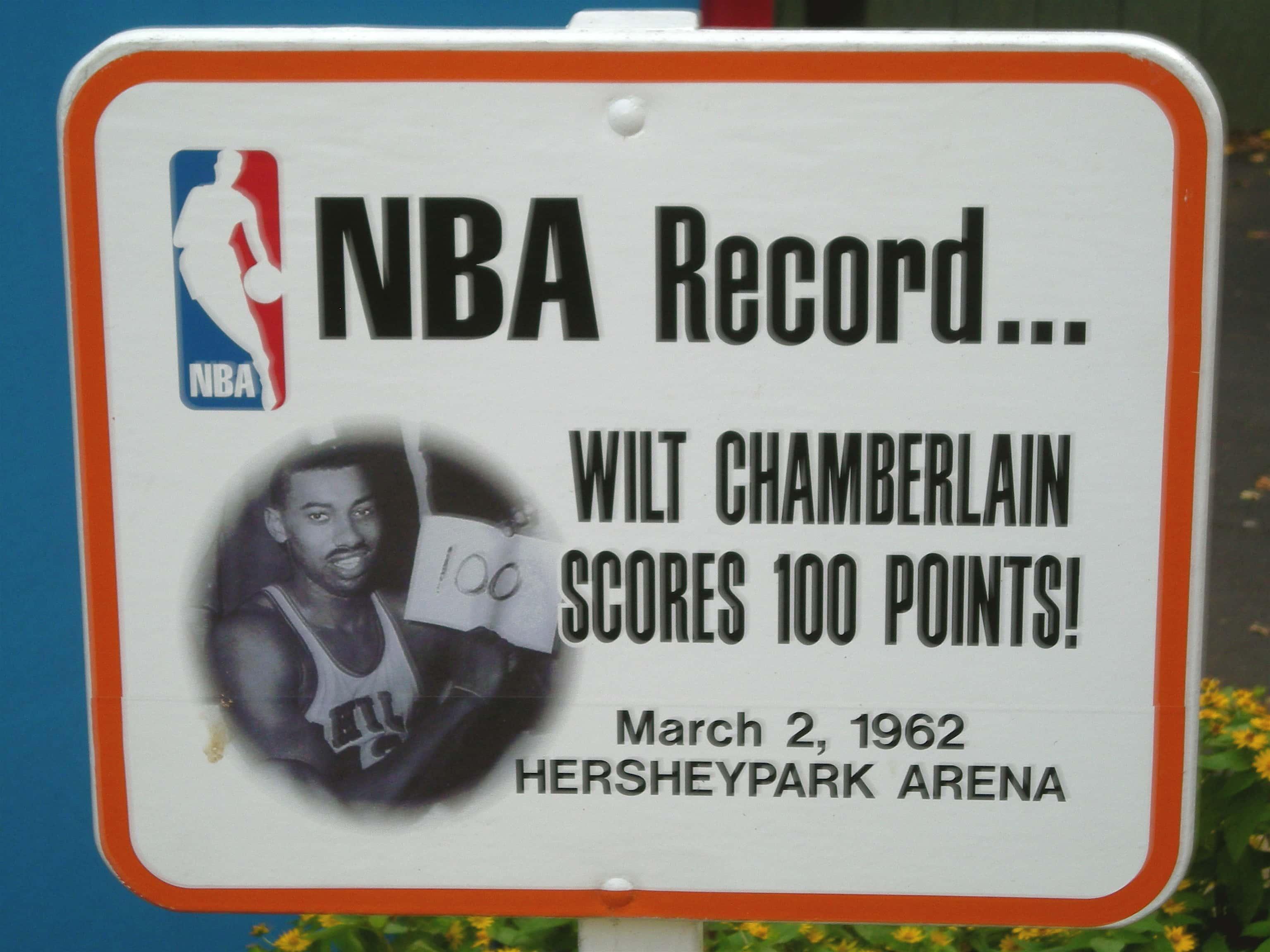 Wilt Chamberlain facts