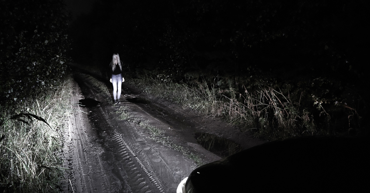 scary night driving