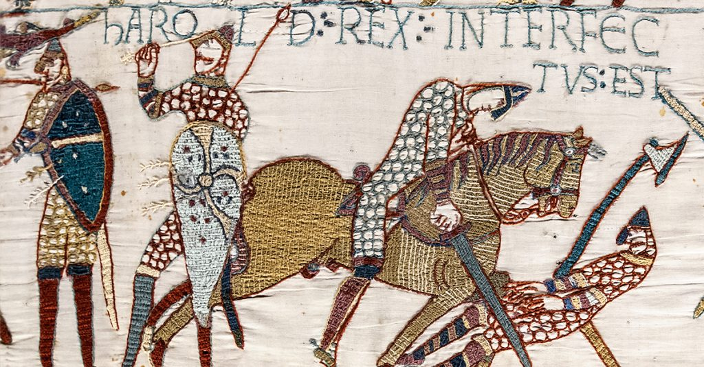 When England's King Was A Viking From France: William And The Battle Of Hastings