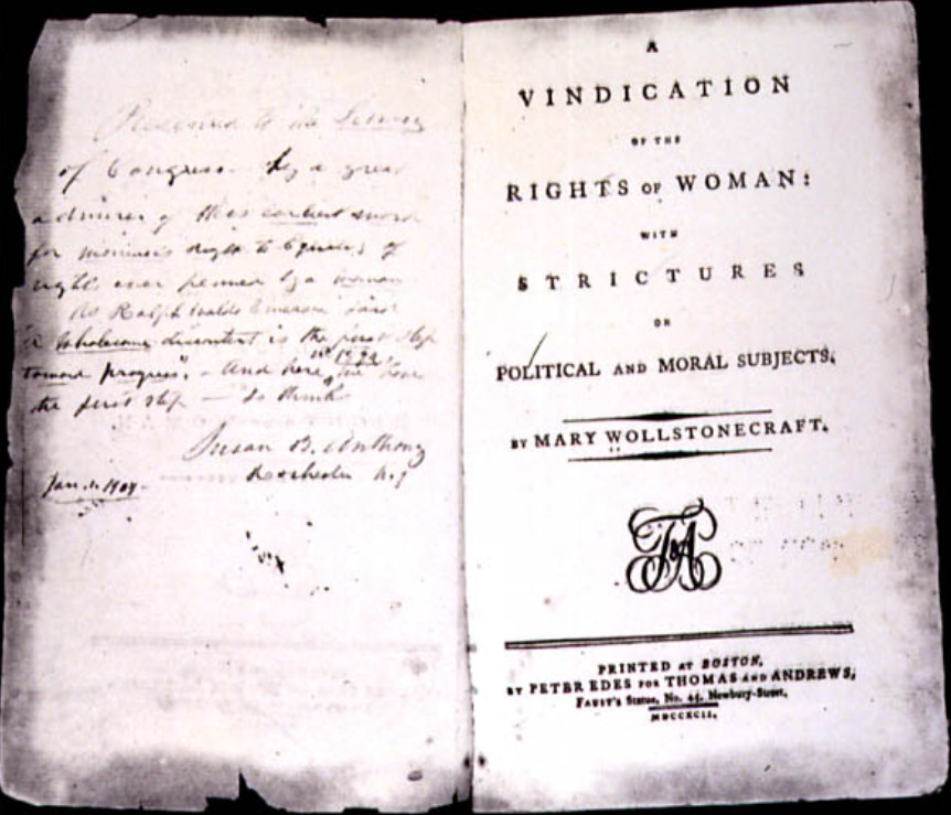 Mary Wollstonecraft Facts