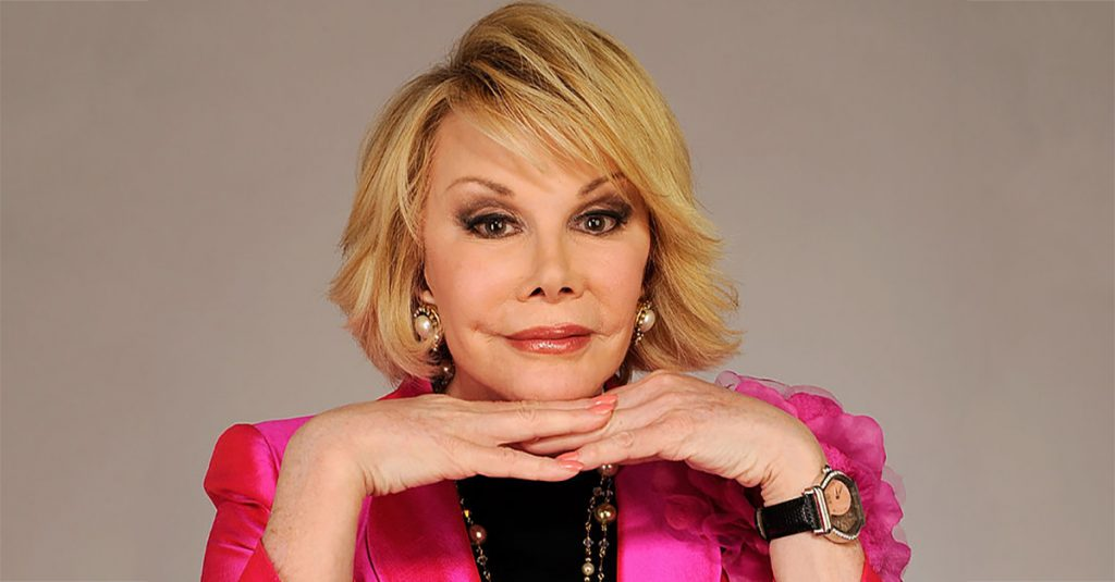 42 Raunchy Facts About Joan Rivers, The Queen of Comedy