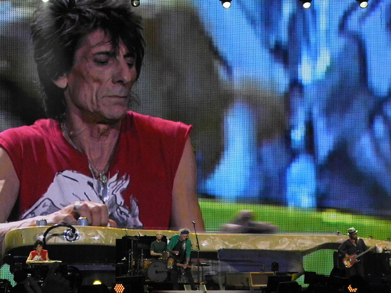 Ronnie Wood Fact