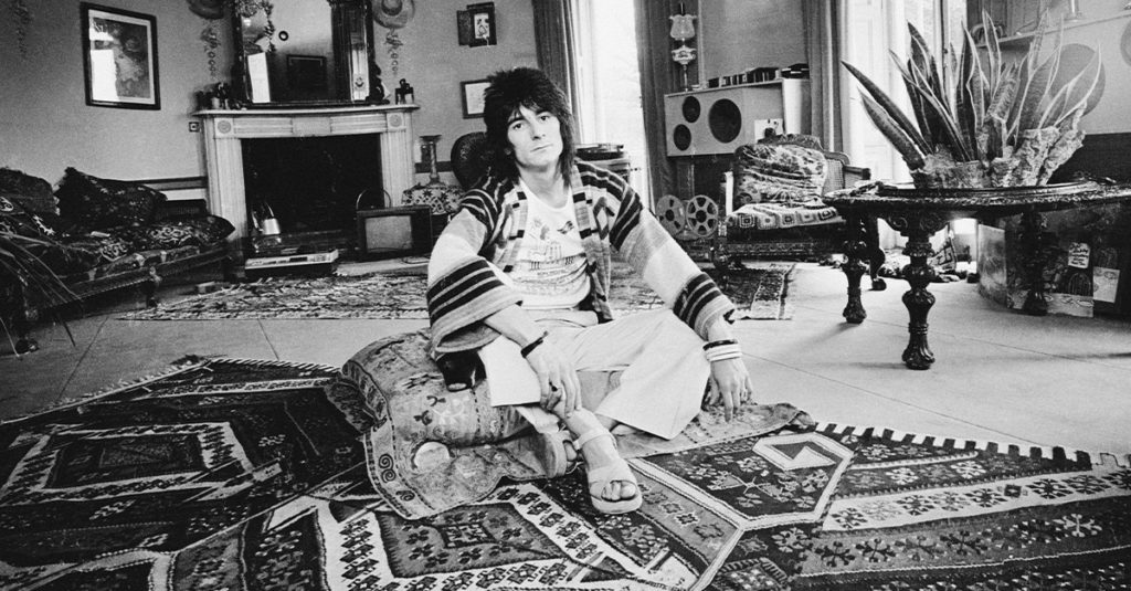 50 Rocking Facts About Ronnie Wood, The Rolling Stones Guitarist