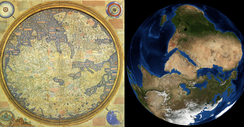 The Fra Mauro Map: The Google Earth of the Medieval World