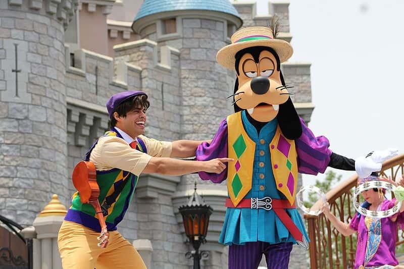 Disney Break Character Facts