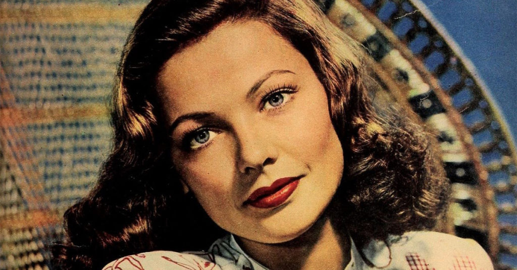 42 Tragic Facts About Gene Tierney, The Hollywood Get Girl