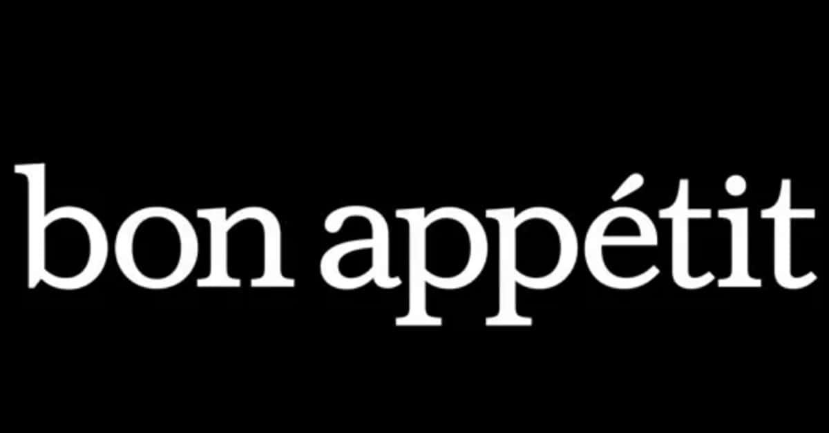 Bon Appetit Editorial