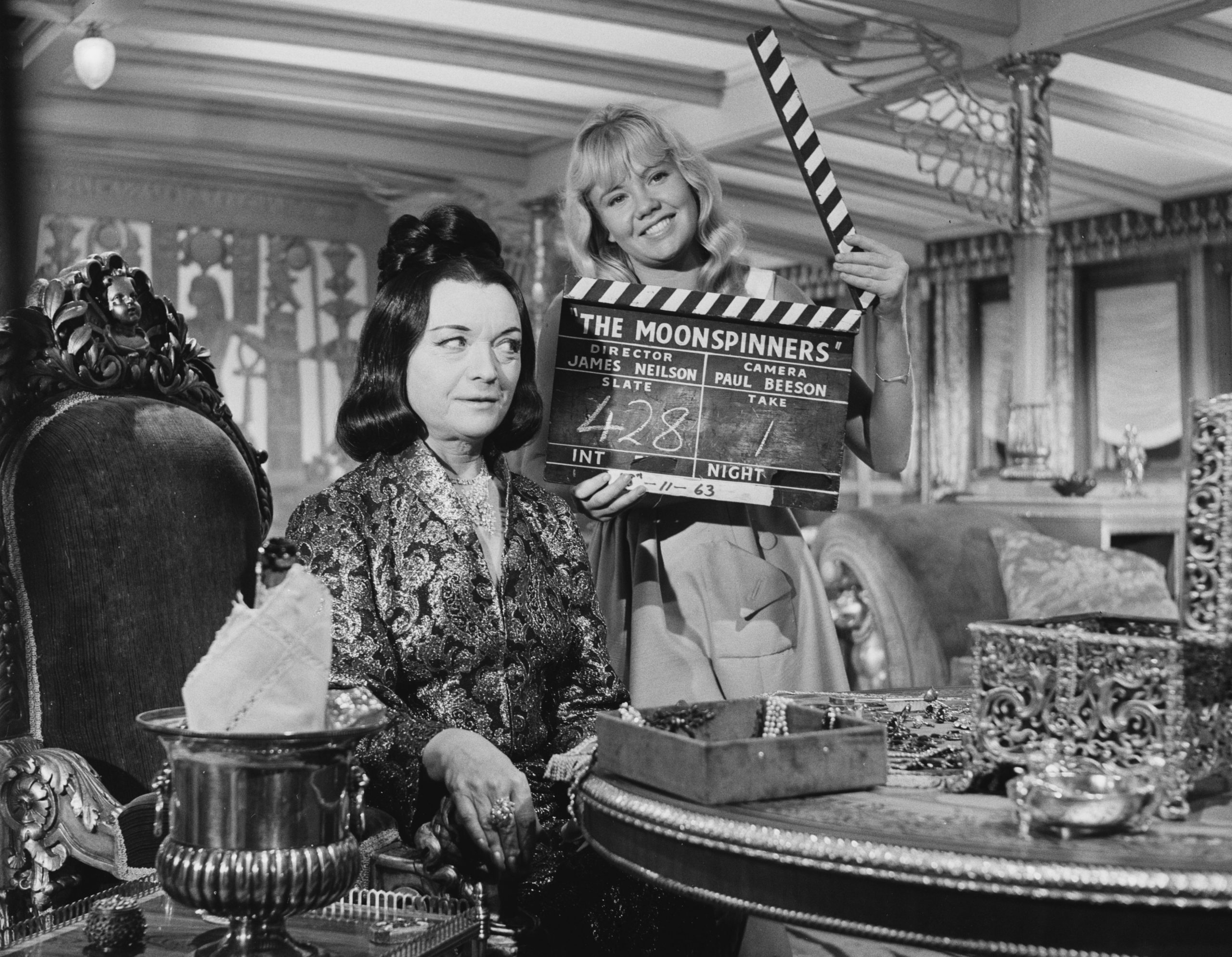 Pola Negri FactsMartha Scott and Pola Negri in a still from Hi Diddle Diddle (1943)