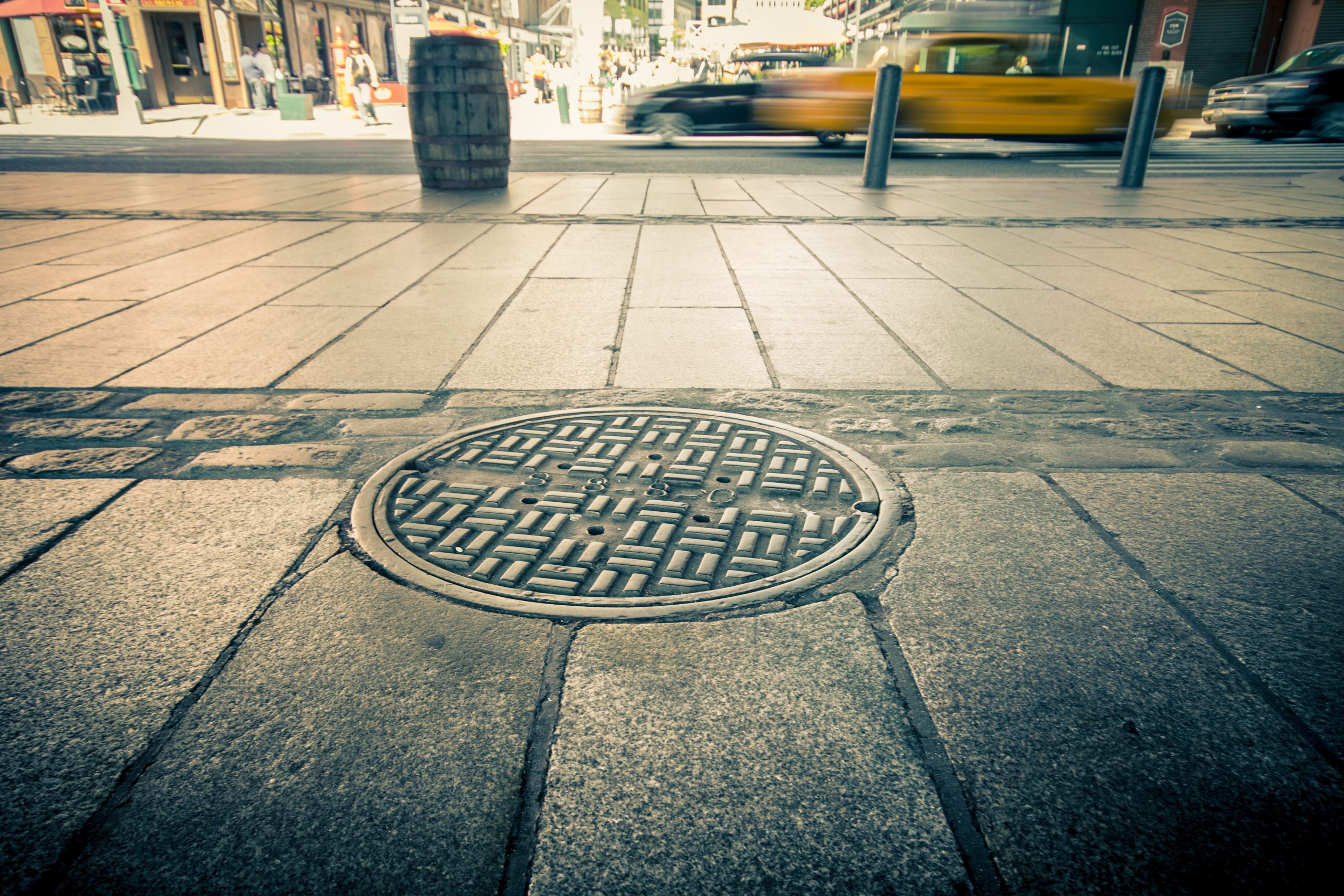 Why Are Manhole Covers Round Editorial