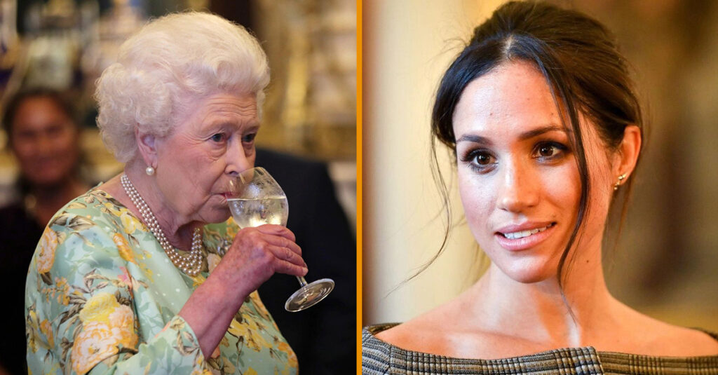 Meghan Markle Looks The Queen Wouldn't Approve Of