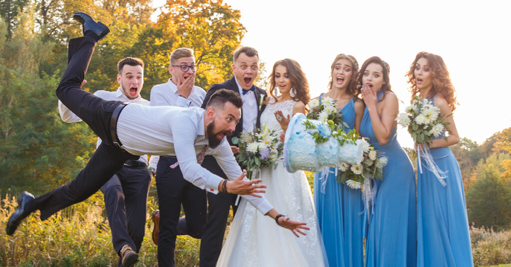 "These Wedding Red Flags Had Us Shouting ""I Object!"""