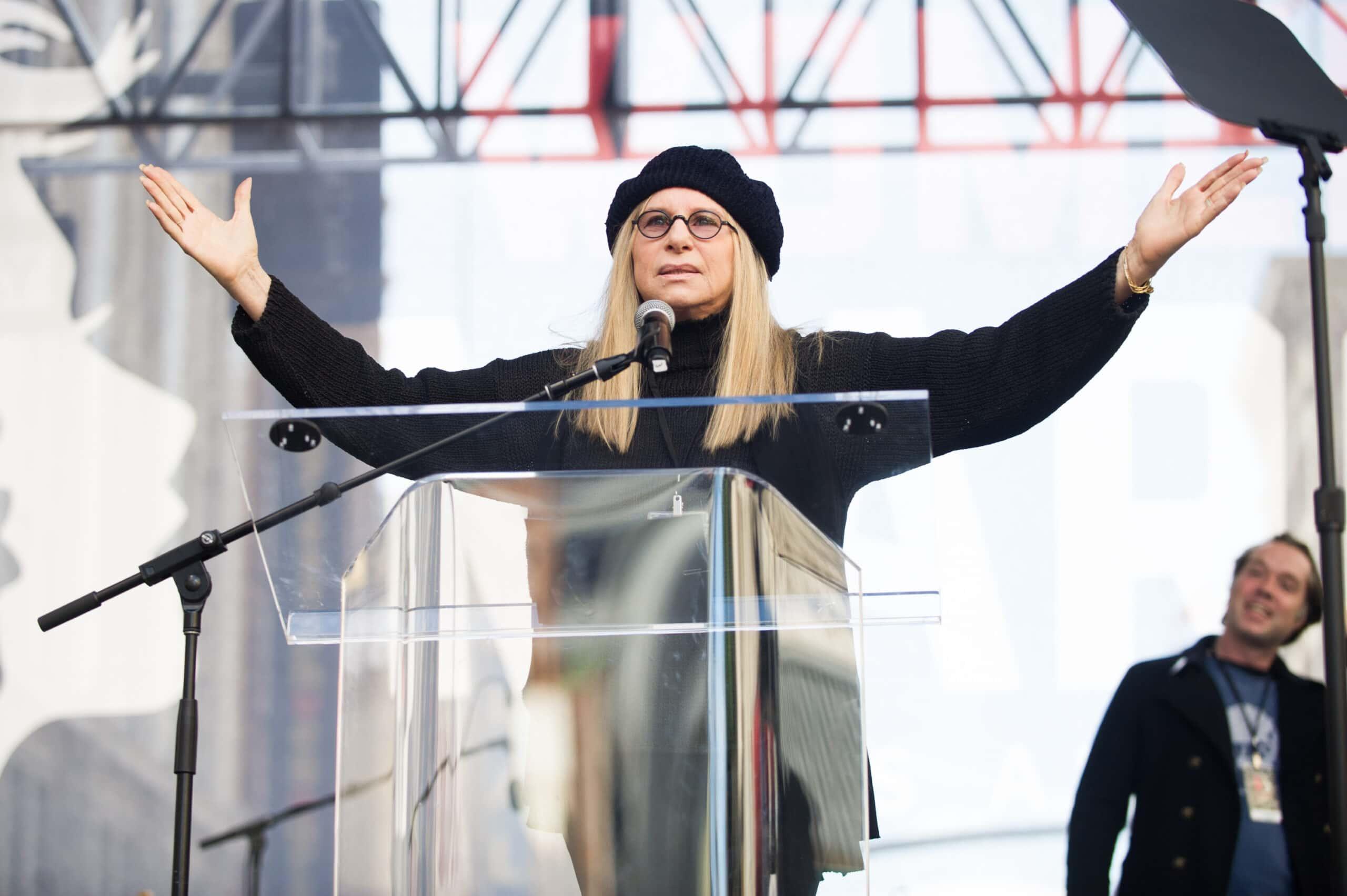 Barbra Streisand Editorial