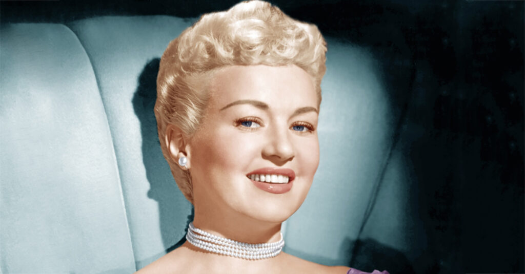 Provocative Facts About Betty Grable, The Pin-Up Queen