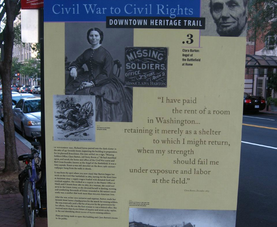 Clara Barton Facts