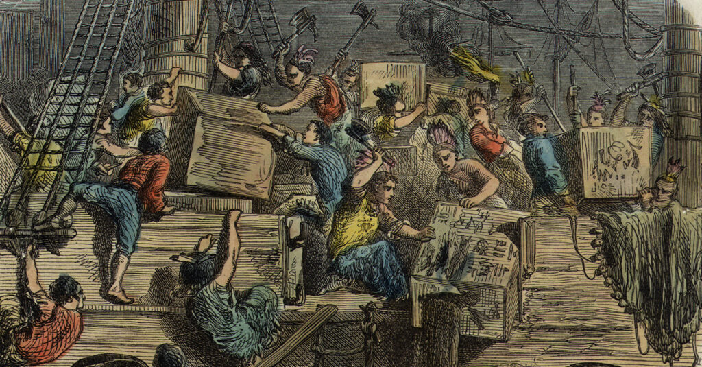 Rebellious Facts About The Boston Tea Party