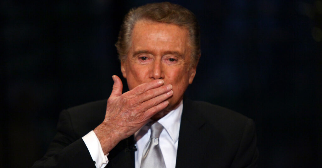 The Untold Story Of The Late, Great Regis Philbin