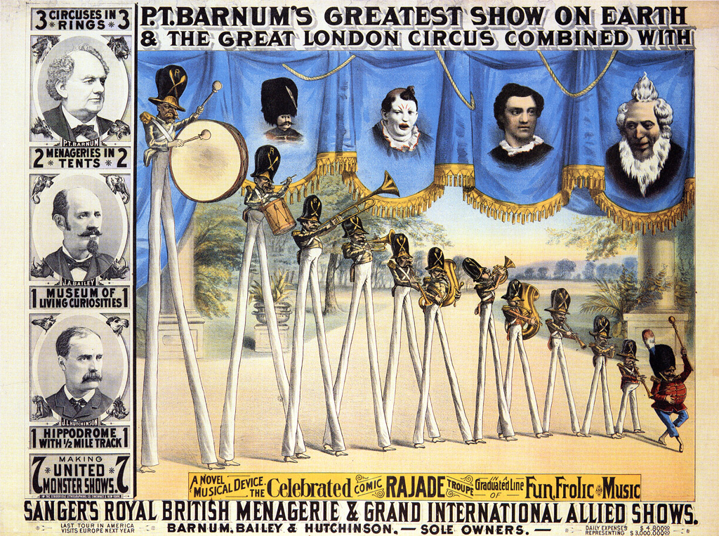 P.T. Barnum Facts