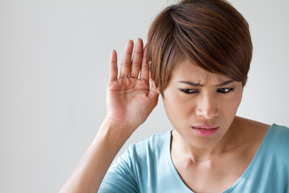 Deaf regain hearing