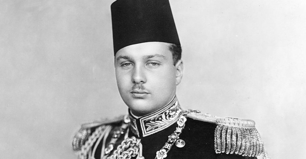 Debauched Facts About Farouk Of Egypt, The King Of The Night