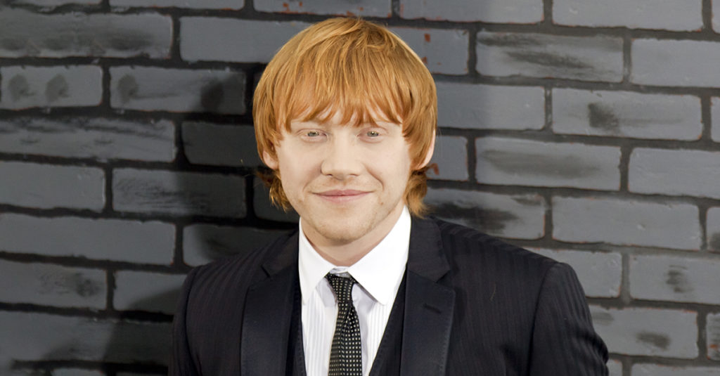 Second-Hand Facts About Rupert Grint, The Redheaded Rogue