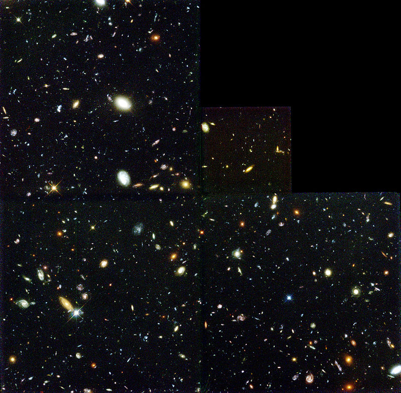 Hubble Deep Field Editorial