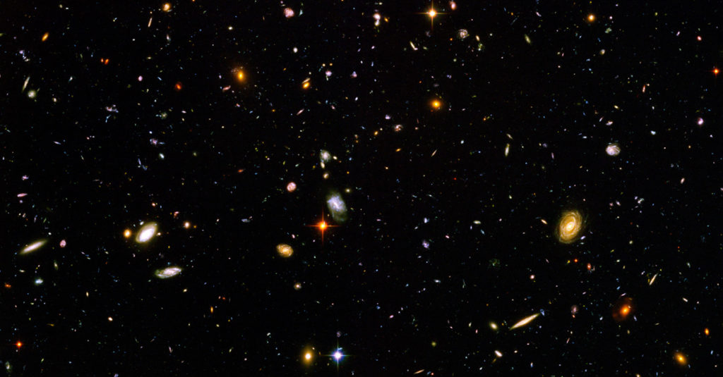 Hubble Deep Field Will Change The Way You See The Night Sky