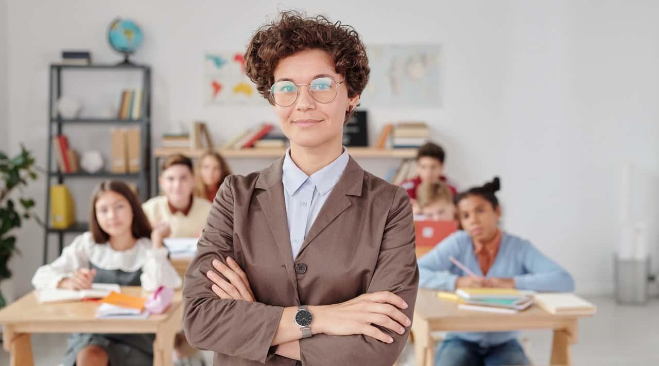 Teacher disturbing parents