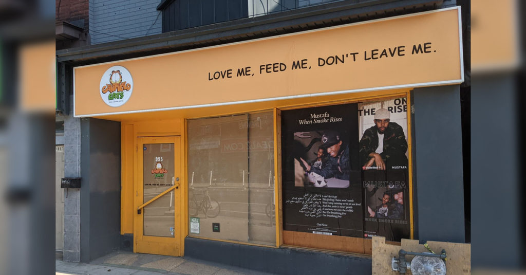 The Rise And Fall Of GarfieldEATS, Fever Dream Turned Restaurant