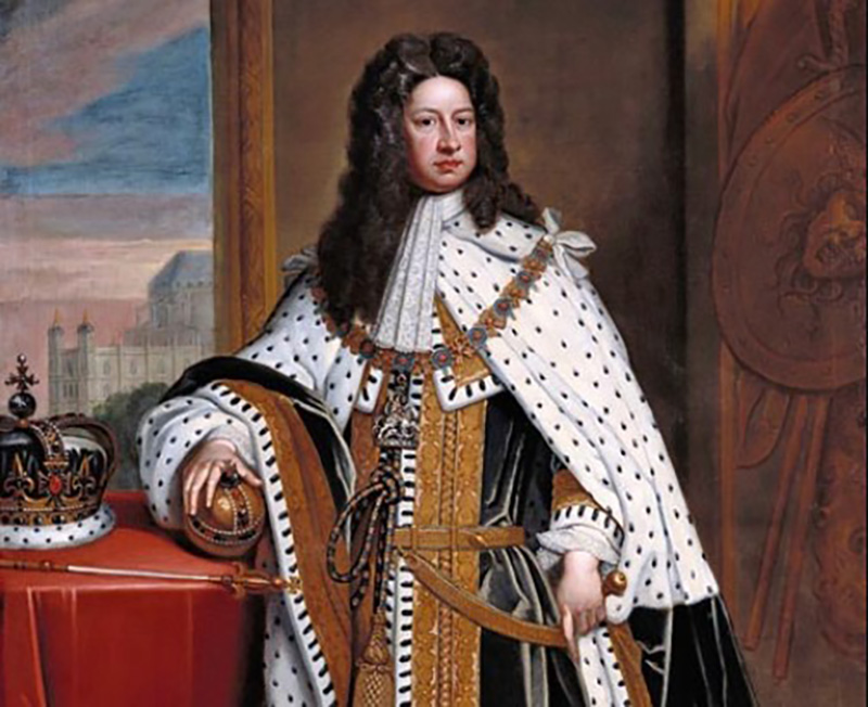King George I facts