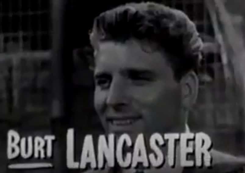 Burt Lancaster facts