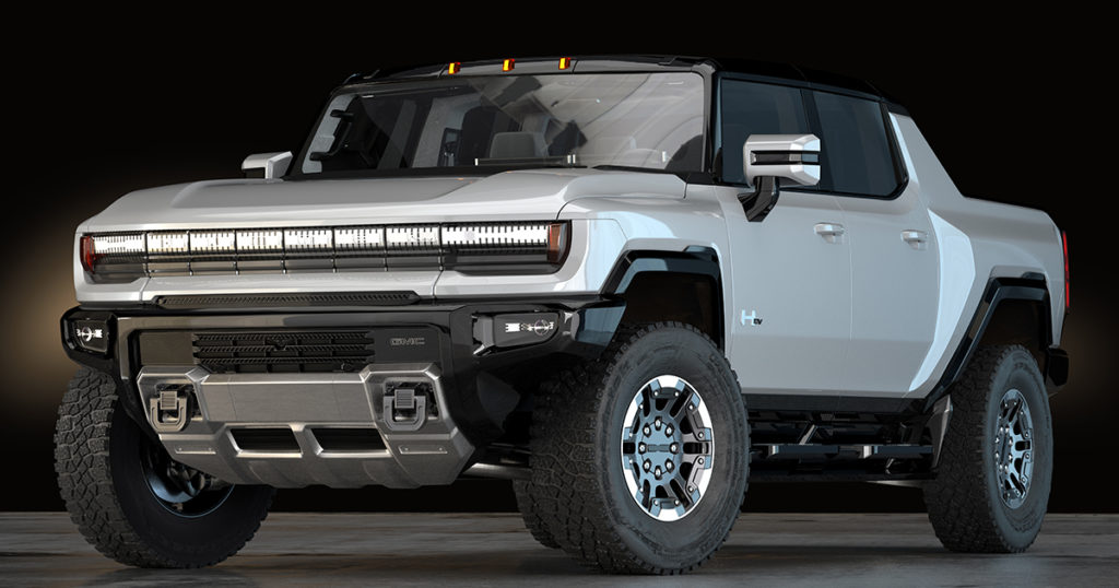 Car Of The Day: The 2022 GMC Hummer EV