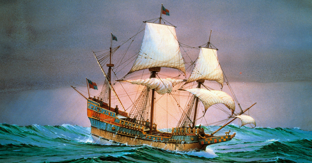 The Golden Hind: The Ship That Made Queen Elizabeth Stinking Rich